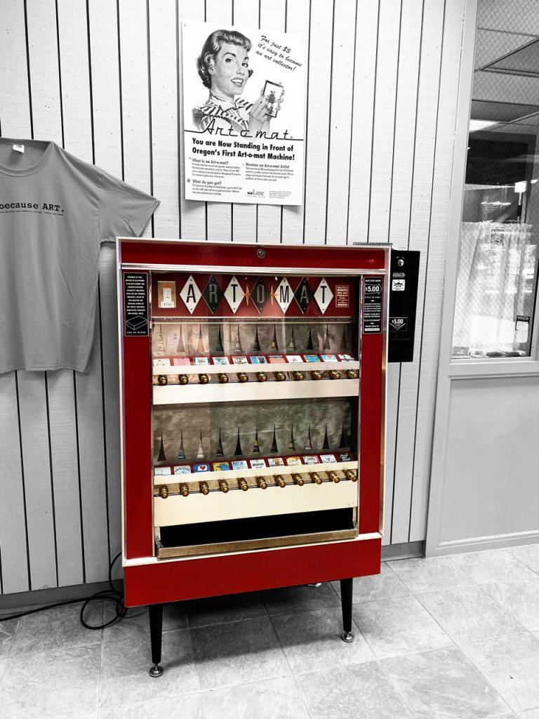 ART O Matic vending machine