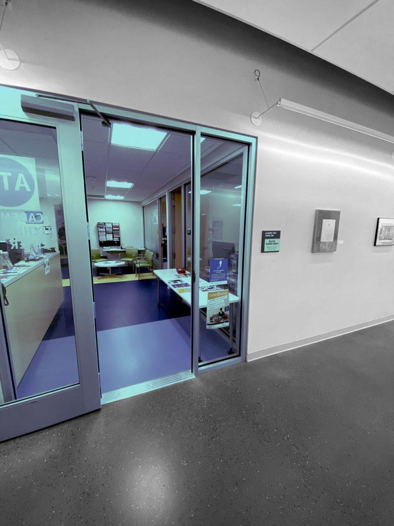 door into Academic technology center